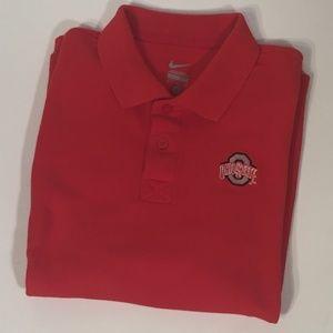 Men's Nike Ohio State Polo Shirt, sz. M